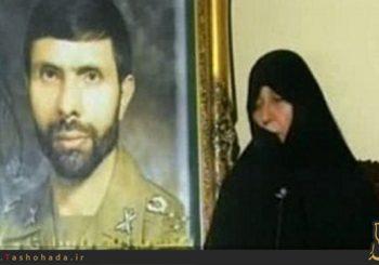 همسر شهید (خانم عفت شجاع)